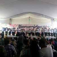 Photo taken at Feria Chiles en Nogada Calpan 2014 by Fátima S. on 8/10/2014
