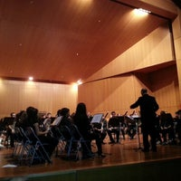 Photo taken at Conservatorio Profesional y Superior de Música de Canarias by Marisela D. on 12/21/2012