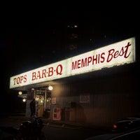 Photo taken at Tops Bar-B-Q by Matt L. on 12/7/2012
