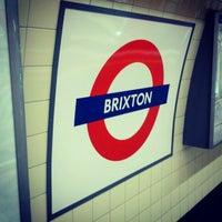 Photo taken at Brixton London Underground Station by Matt L. on 1/4/2013