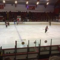 Photo taken at Blackburn Ice Arena by Chris M. on 2/22/2014