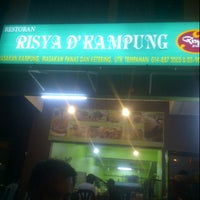 Photo taken at Restoran Risya D'Kampung by ahmad z. on 9/28/2012