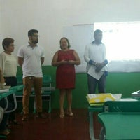 Photo taken at Escola Estadual Francisco Walcyr. by Clebson S. on 3/1/2016