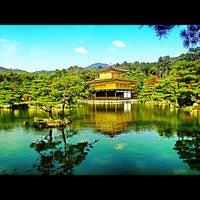 Photo taken at Kinkaku-ji Temple by Ersoy B. on 11/8/2012