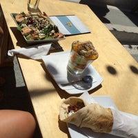 Photo taken at Falafel by Audrey R. on 8/18/2015
