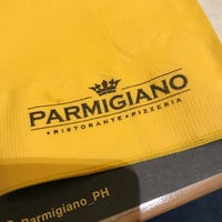 Photo taken at Parmigiano Pizzeria Ristorante by Ned Anthony E. on 11/12/2017