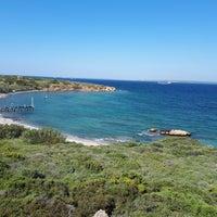 Photo taken at Tuzburnu Plajı by Özgür K. on 4/28/2018