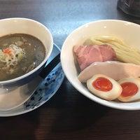 4/23/2018にツジオカがらぁ麺 紫陽花で撮った写真