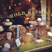 Photo taken at Goorin Bros. Hat Shop by Sherry S. on 6/16/2012