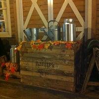 Photo taken at Nanny's Pavillon - Barn by Cindy V. on 10/13/2012