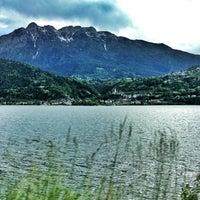 Photo taken at Lago di Caldonazzo by Margherita P. on 6/2/2013