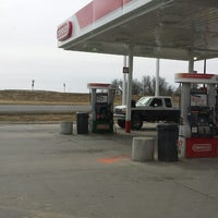 Photo taken at Conoco Gas Station by Seth E. on 2/19/2014