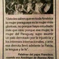 Photo taken at Paris - Paraguay by Arturo Daniel G. on 2/24/2014