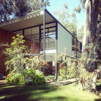Photo taken at The Eames House (Case Study House #8) by Josh S. on 1/8/2013