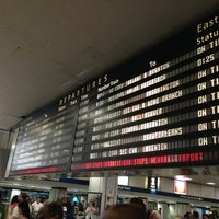 Photo taken at New York Penn Station (NYP) by Reynaldo M. on 6/1/2013