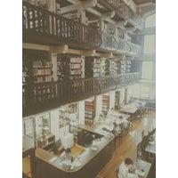 Photo taken at Biblioteca George Alexander by Luis Guilherme T. on 9/20/2014