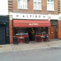 Photo taken at Alpino by Antonio M. on 4/27/2014