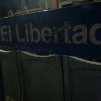 Photo taken at Estación El Libertador [Línea Urquiza] by Federico E. on 7/24/2015