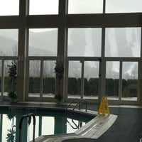Photo taken at Vacation Village Berkshires Indoor Pool by Kott on the cot on 11/20/2017