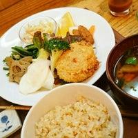 Photo taken at オーガニックマクロビcafe おひさまや by トコナル on 2/26/2016