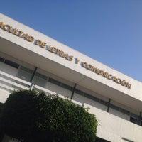 Photo taken at Facultad de Letras y Comunicación by Iván H. on 11/23/2015