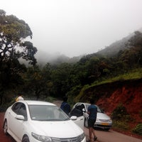 Photo taken at Mullayanagiri by Mahesh D. on 6/20/2014