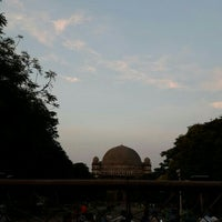 Photo taken at Gol Gumbaz by Mahesh D. on 2/21/2016