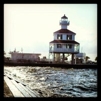 Photo taken at New Canal Lighthouse by Ang C. on 9/26/2012