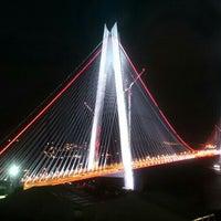 8/26/2016 tarihinde Özkan Ömer A.ziyaretçi tarafından Yavuz Sultan Selim Köprüsü'de çekilen fotoğraf