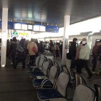 Photo taken at Osaka Monorail Hotarugaike Station by Yoichi M. on 2/23/2013
