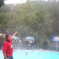 Photo taken at Pemandian Air Panas - Hotel Duta Wisata Guci by Riri S. on 2/9/2014