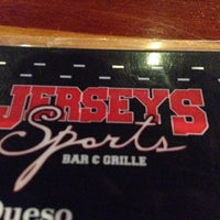 Photo taken at Jersey's Sports Bar & Grill by Steve C. on 4/14/2014