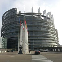 Photo taken at European Parliament by Zoltan W. on 10/25/2012