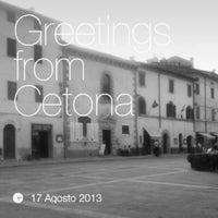 Photo taken at Cetona by Filippo N. on 8/17/2013