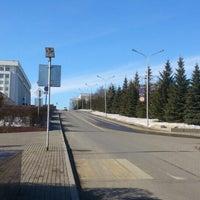 Photo taken at Улица Тукаева by Yuri R. on 3/8/2016