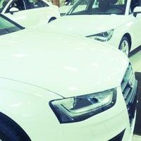 Photo taken at Audi (АвтоПремьер) by Yuri R. on 4/9/2014