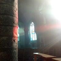 Photo taken at Sint-Denijs kerk by Claudia B. on 5/26/2017