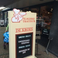Photo taken at Slagerij de Kroes by Koen M. on 5/28/2016