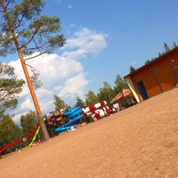 Photo taken at Käyrälampi by Oleg K. on 7/26/2014