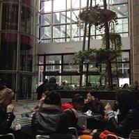 Photo taken at Sony Public Plaza by Deborah N. on 2/28/2013
