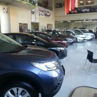 Photo taken at Honda Cars Kalookan by jet s. on 2/4/2013