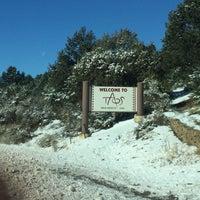 Photo taken at Taos, NM by Lisa K. on 12/18/2016
