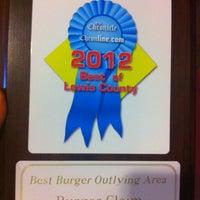 Photo taken at Burger Claim by Chris R. on 10/12/2012