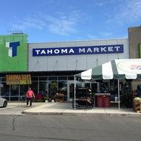 Photo taken at Tahoma Market by Chris R. on 6/8/2013
