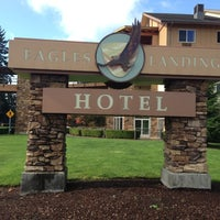 Photo taken at Lucky Eagle Casino / Eagles Landing Hotel by Chris R. on 10/16/2012