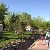 Photo taken at Saray Bosna Parkı by Mustafa K. on 5/3/2013