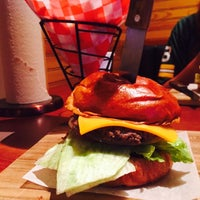 Photo taken at Serious Burger by Mariah H. on 8/10/2015