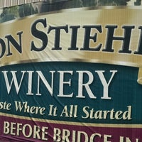 Photo taken at Von Stiehl Winery by Bradley S. on 9/10/2016