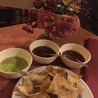 Photo taken at Los Pacos -Alta Cocina Oaxaqueña- by Devin B. on 12/9/2016