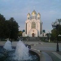 Снимок сделан в Площадь Победы пользователем Анастасия К. 9/26/2012